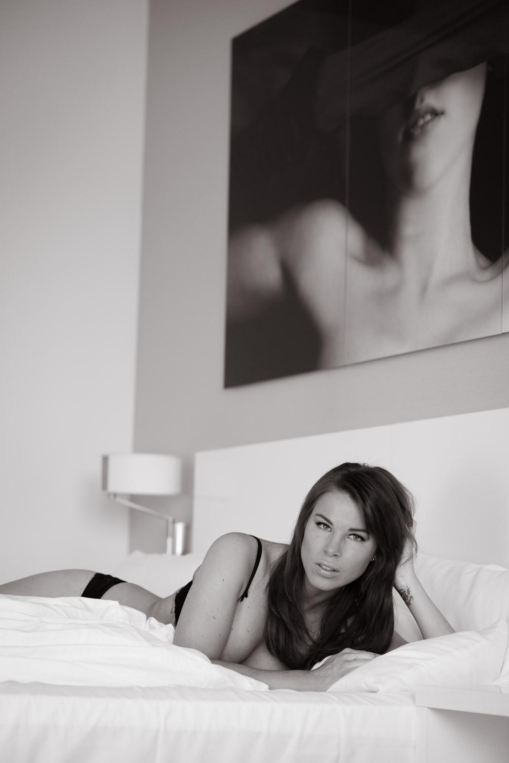 Exklusive Boudoirfotos im Stuttgarter Hotel