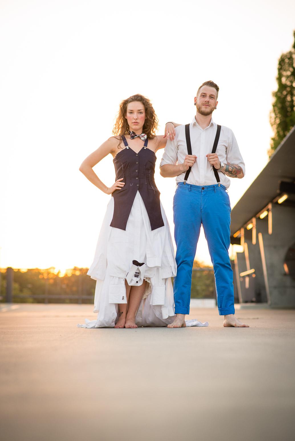Hochzeitsfotograf für Brautmodenshooting in Stuttgart