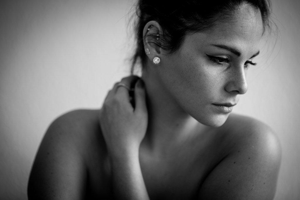 Sinnliches Portrait Shooting Portrait Fotograf Boudoir Fotografi
