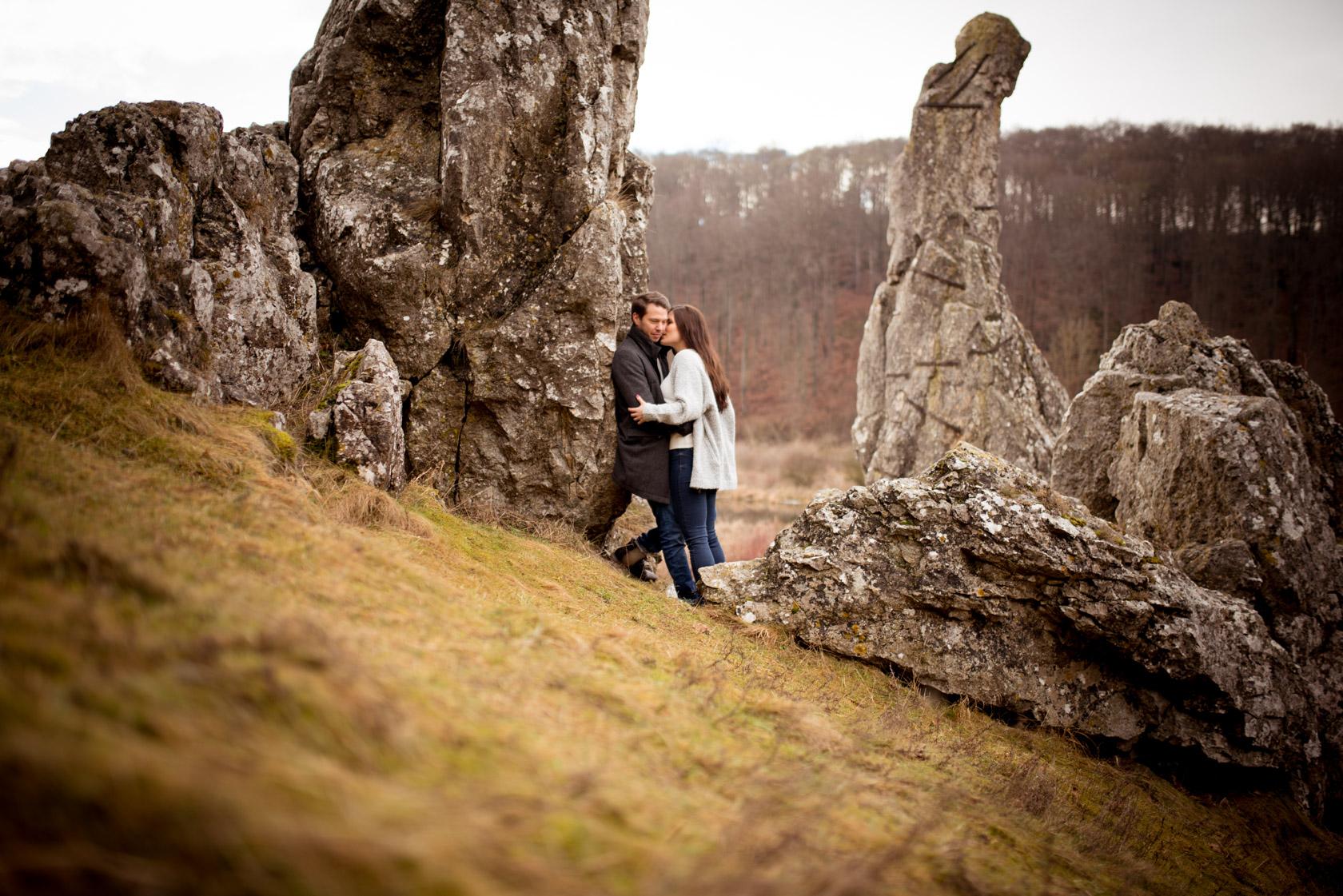 Paar Fotoshooting Eselsburgertal Paarfotos Engagement Hochzeitsf