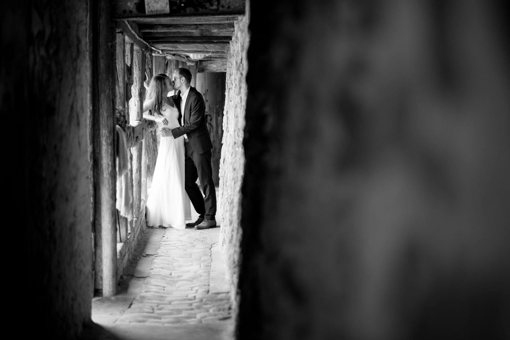 Brautpaarshooting für standesamtliche Hochzeit mit Christiane u