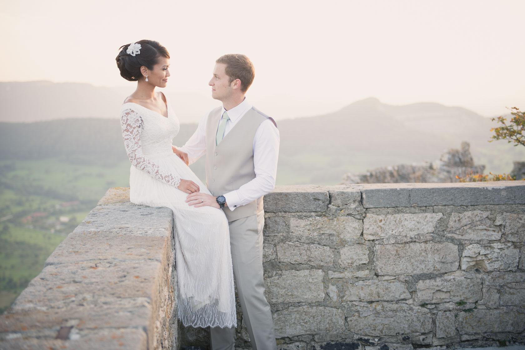 Hochzeitsreportage Burg Hohen Neuffen