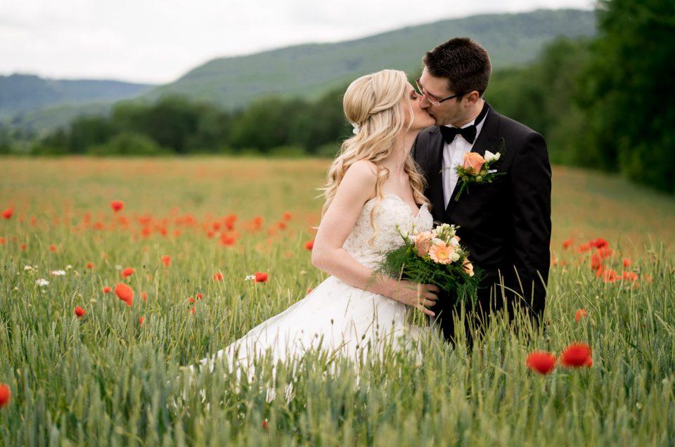 Hochzeitsfotograf unterwegs mit Janina und Philipp im Raum Göppingen